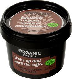 """Natura Siberica Organic Kitchen Scrub do ciała modelujący """"Obudź się i poczuj zapach kawy""""  100ml"""