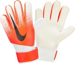 Nike Rękawice bramkarskie Gk Match Jr SU19 białe r. 8 (GS3371-101)