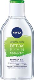 Nivea Nivea Urban Skin Detoks Płyn micelarny 3w1  400ml