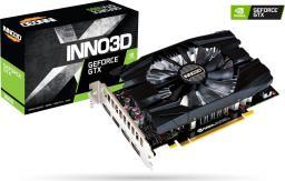 Karta graficzna Inno3D GeForce GTX 1660 Compact, 6GB GDDR5, HDMI, 3xDP (N16601-06D5-1510VA29)