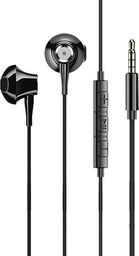 Słuchawki Usams USAMS Słuchawki stereo EP-29 metal czarny/black HSEP2901 jack 3,5mm (US-SJ271)