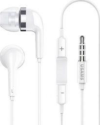 Słuchawki Usams USAMS Słuchawki stereo EP-23 biały /white HSEP2301 jack 3,5mm