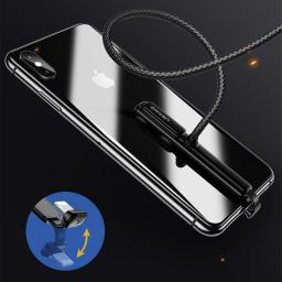 Kabel USB Usams Gaming U9 lightning 1,5m 2A Fast charging pleciony czarny/black SJ278IP01 (US-SJ278)