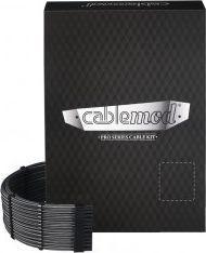 CableMod PRO ModMesh RT-Series Zestawy kabli ASUS ROG / Seasonic - węglowe