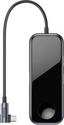 Stacja/replikator Baseus Baseus adapter HUB USB-C na 2xUSB 3.0 HDMI 4K Jack 3,5 Qi do Apple Watch uniwersalny