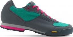 GIRO Buty damskie Petra Vr Turquoise Bright Pink r. 38