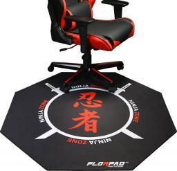 FlorPad Florpad Ninja Zone Gamer-/eSport-Bodenschutzmatte - weich, Speci