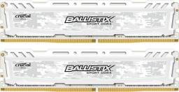 Pamięć Crucial Ballistix Sport LT, DDR4, 16 GB,3000MHz, CL15 (BLS2K8G4D30AESCK)
