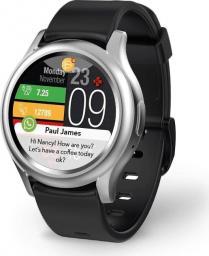 Smartwatch MyKronoz ZeRound3 Srebrny  (001907240000)