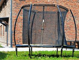 ENERO  Trampolina ogrodowa PREMIUM z siatką wewnętrzną 8FT 244cm