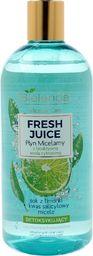 Bielenda Bielenda Fresh Juice Płyn micelarny detoksykujący z wodą cytrusową Limonka 500ml