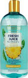 Bielenda Bielenda Fresh Juice Płyn micelarny rozświetlający z wodą cytrusową Ananas 500ml