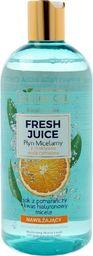 Bielenda Bielenda Fresh Juice Płyn micelarny nawilżający z wodą cytrusową Pomarańcza 100ml