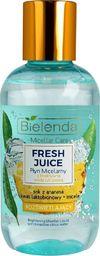 Bielenda Bielenda Fresh Juice Płyn micelarny rozświetlający z wodą cytrusową Ananas 100ml