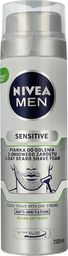 Nivea NIVEA MEN Sensitive Pianka do golenia 3-dniowego zarostu  200ml