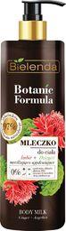 Bielenda Mleczko do ciała Botanic Formula Imbir i Dzięgiel 400ml