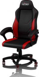 Fotel Nitro Concepts C100 - Czarno-czerwony