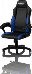Fotel Nitro Concepts C100 Czarno-niebieski