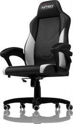 Fotel Nitro Concepts C100 - Czarno-biały