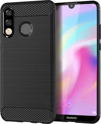 Etui Carbon Case Huawei P30 Lite - Black uniwersalny