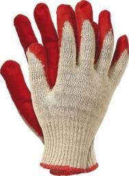 Unimet rękawice wampirki powlekane gumą czerwone (REK RUC 450)