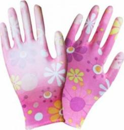 Unimet Rękawice ochronne Dalia w kwiatki rozmiar 9 (REK DALIA 9)