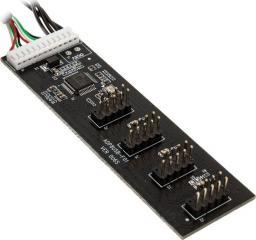 Kolink Wewnętrzny HUB 4x USB 2.0 60cm (ZUUS-365)