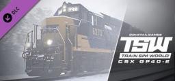 Train Sim World - CSX GP40-2 Loco Add-On (DLC)