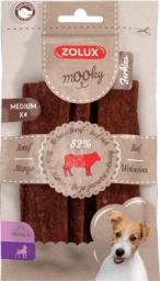 Zolux ZOLUX Przysmak MOOKY Premium Jerkies wołowina M x 4 szt.