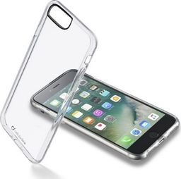 Cellular Line Etui Clear Duo iPhone 7 Plus transparentne