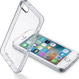 Cellular Line Etui Clear Duo iPhone SE/5S/5 transparentne