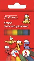 Herlitz Kredki świecowe 6 kolorów
