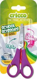 Cricco Nożyczki szkolne dla leworęcznych 13,5cm CRICCO