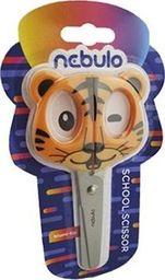 Nebulo Nożyczki dziecięce z uchwytem Tygrys NEBULO
