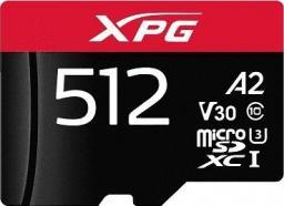 Karta MicroSD ADATA XPG 512GB UHS I U3 A2 (AUSDX512GUI3XPGA2-R)