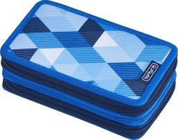 Piórnik Herlitz Piórnik 31 części potrójny Blue Cubes