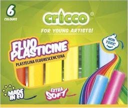 Cricco Plastelina fluorescencyjna 6 kolorów CRICCO