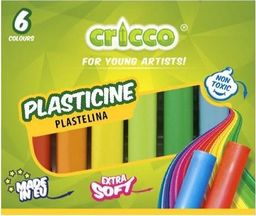 Cricco Plastelina 6 kolorów CRICCO