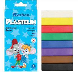 Eurocom Plastelina Gita 8 kolorów KARBON