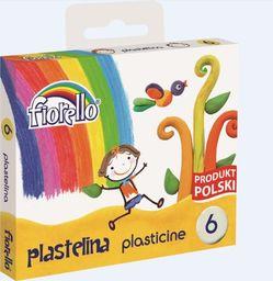 Fiorello Plastelina 6 kolorów FIORELLO