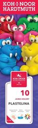 Koh-I-Noor Plastelina 10 kolorów 200g