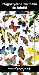 HENRY Zakładka magnetyczna - Motyle 2