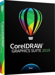 Corel CorelDRAW GS 2019 PL/EN/DE/ES/FR/NL/IT/BP Box  MAC CDGS2019MMLDPEU-CDGS2019MMLDPEU