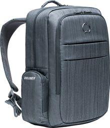 """Plecak Delsey Plecak na laptop 15.6"""" DELSEY Clair Szary uniwersalny"""
