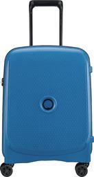 Delsey Mała kabinowa walizka DELSEY Belmont+ Slim Niebieska uniwersalny
