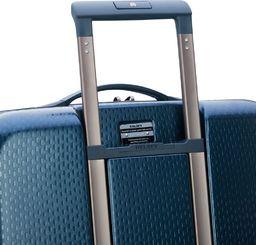 Delsey Duża walizka DELSEY Turenne Niebieska uniwersalny