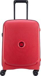 Delsey Mała kabinowa walizka DELSEY Belmont+ Slim Czerwona uniwersalny