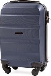 Kemer Bardzo mała kabinowa walizka KEMER AT01 XS Granatowa uniwersalny