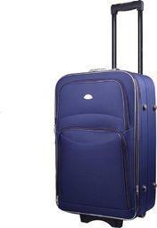 PELLUCCI Mała kabinowa walizka PELLUCCI 773 S - Granatowa uniwersalny