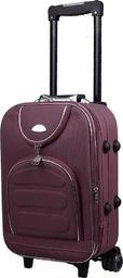 PELLUCCI Mała kabinowa walizka PELLUCCI 801 S - Brązowa uniwersalny